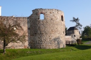 Mautern-Favianis fort westfront fortification (Boundary Productions)