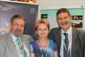 Andreas Schwarcz, Dana Mihai and Enzo Finocchiaro at the SEE Annual Meeting