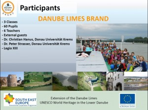 Danube limes Day Krems AT Participants. Presentation: DANUNI Krems